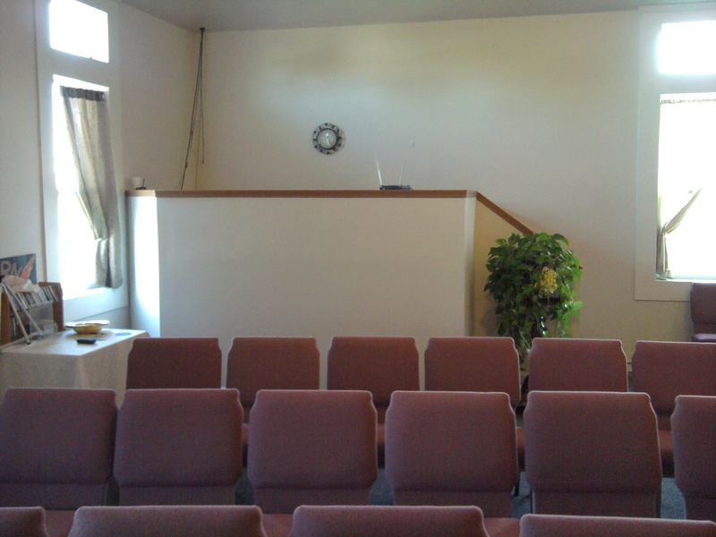 church sound booth