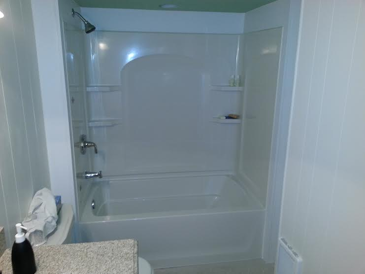Bath tub Unit installation