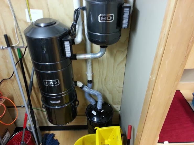 Commercial Vacuum system